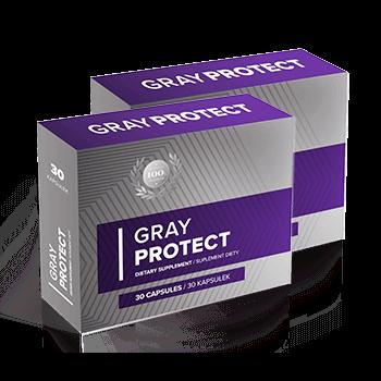 Tabletki przeciw siwieniu Gray Protect