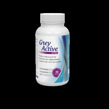 Tabletki Grey Active Ultra wspomagające walkę z siwymi włosami